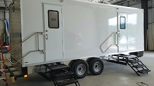 Restroom Trailers - Lang Specialty Trailers Pro Series