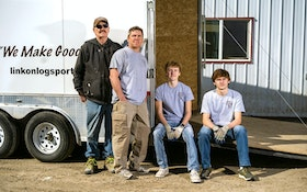 Clay Lincoln Overcomes Obstacles to Find Success With Linkon Logs Portables and Event Services