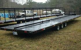 Transport Trucks/Trailers - Liquid Waste Industries trailer