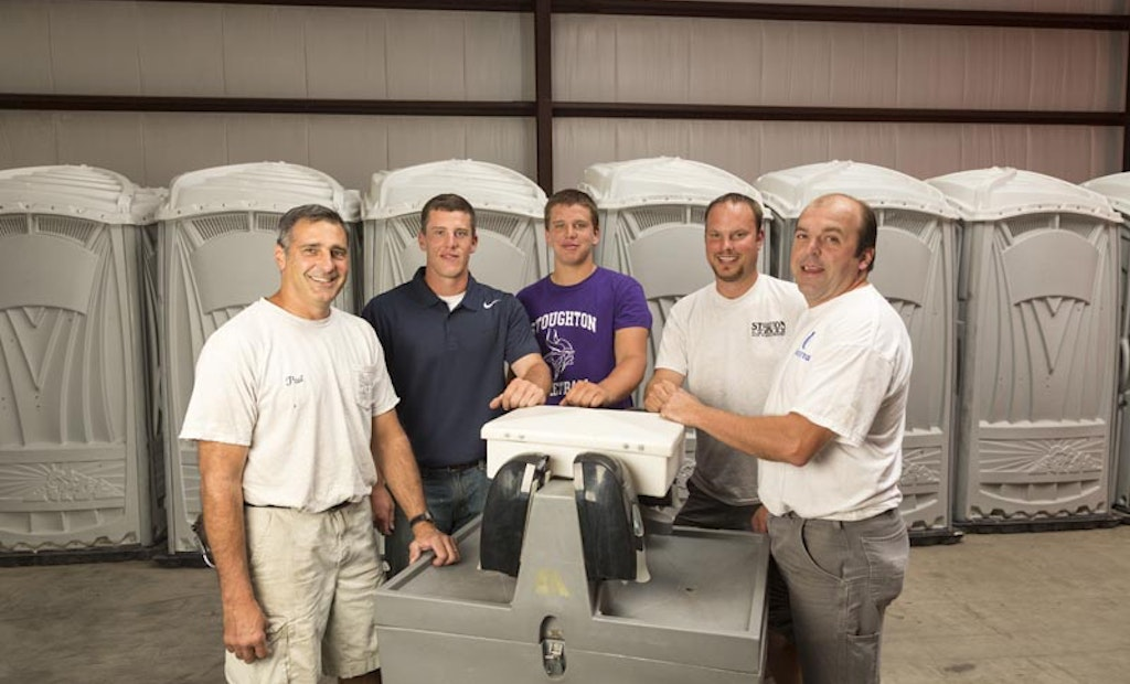 Lumberyard Adds Portable Sanitation, Builds Customer Base