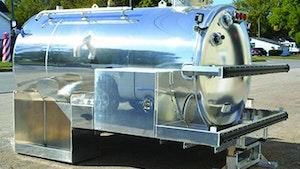 Vacuum Tanks - Mid-State Tank/Arthur Custom Tank portable restroom unit