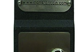 Monarch coin-operated portable restroom lock