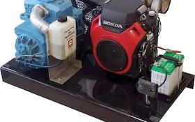 Vacuum Pumps - Moro USA gas-engine-driven pump package