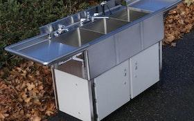 Portable Sinks - NuConcepts deli utility sink