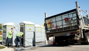 Magic Mike Has Figured Out How to Make Folks Comfortable Using Portable Restrooms