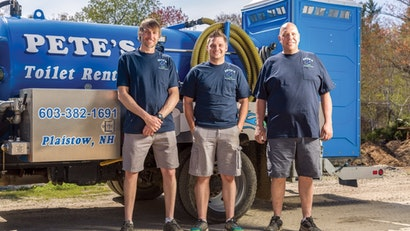 Dan Smart Takes Over Pete's Toilet Rentals