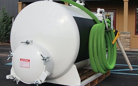 Slide-In Service Units - Pik Rite 450-gallon slide-in vacuum tank