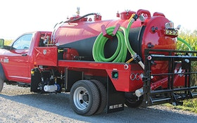 Vacuum Trucks - Pik Rite portable restroom service truck
