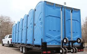 Transport Trucks/Trailers - Pik Rite portable restroom trailer