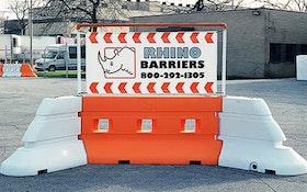 Barricades - PolyJohn Enterprises Rhino Safety Barriers