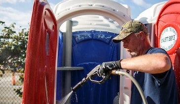 The Portable Restroom Cleaning and Disinfecting Conundrum