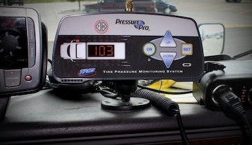 Tire pressure monitoring solutions help fleets cut costs and go green