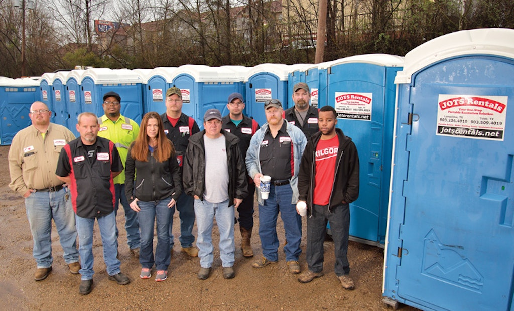 Chris Stuckey Makes His Restroom Company Texas Strong