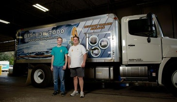 Freshwater Truck Promotes a Clean Image