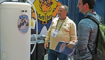 Company Introduces New Freshwater Holding Tank System at 2014 Expo