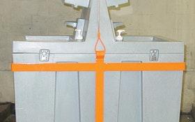Portable Sinks - T.S.F. Tuff-Jon 90-gallon free-standing sink