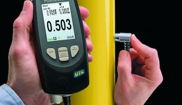 Ultrasonic Inspection Determines Tank Thickness