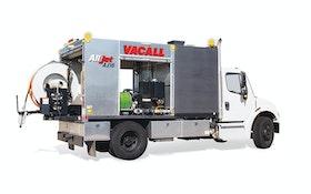 Vacall AllJet truck-mounted jetter