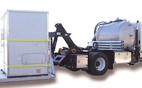 Vacuum Trucks - Vacutrux Hooklift Routetrux