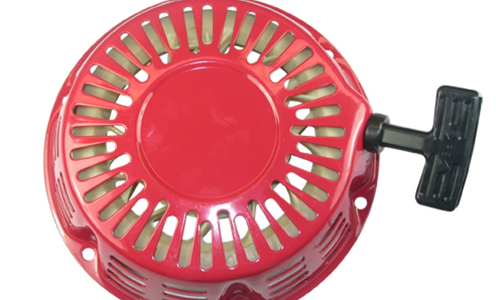 Recoil Starter Assembly Creates Quick Fix for Pull Cord Deterioration