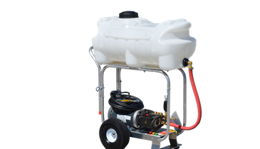 Onboard Water Tank Lets Pressure Washer Go Where Others Can't