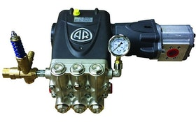 Water Cannon hydraulic washdown pumps