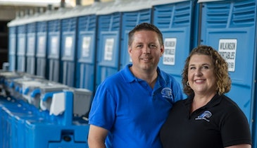 JAG Mobile Solutions Restroom Trailer Gives PRO a Competitive Edge