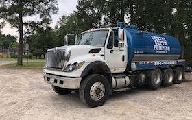 2012 International Super Cab Pump Truck
