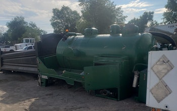 Used steel vac tank