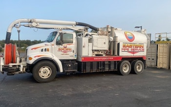 2003 Sterling LT7501 Vac-Con Cleaner/Jetter Combo Truck