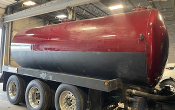 Used 110bbl Curry Vacuum Tank