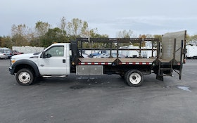2012 F550 Flatbed Delivery Truck