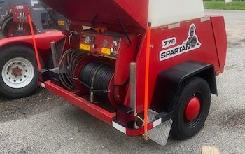 779 Spartan Jetter Trailer.  Year unknown.  Stored indoors.  Like new condi