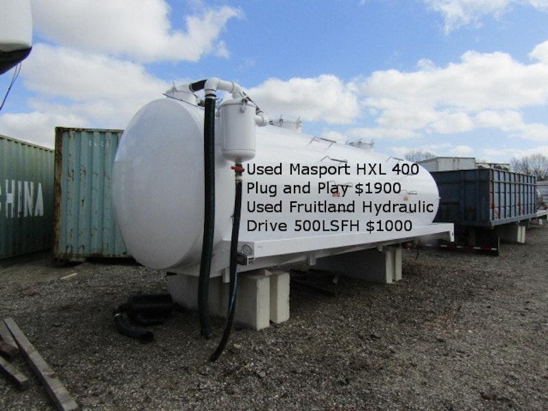 Used VAC Tanks