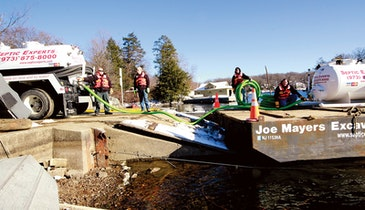New Jersey Pumper Discusses Barge-Mounted Pumping System, Service to Isolated Clients