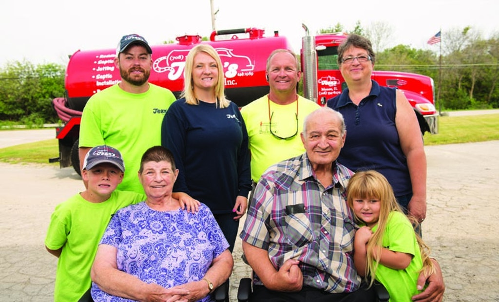 Three Generations And Jean's Septic In Monee, Ill., Is Going Strong