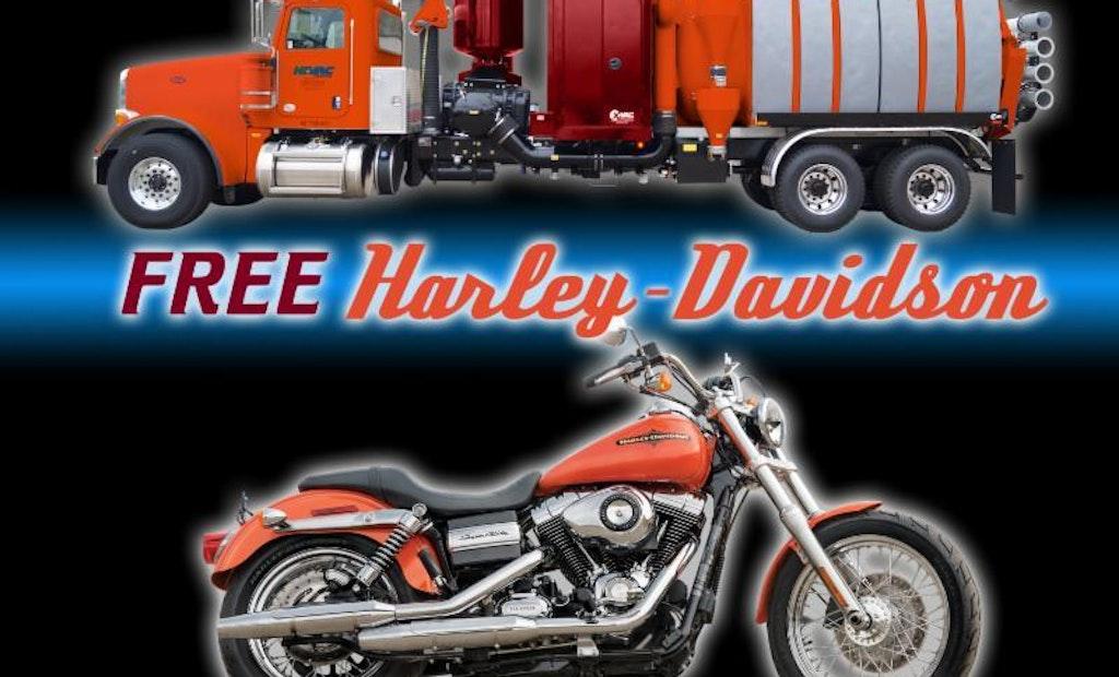 Hi-Vac Offering 'Buy an X-Vac, Get a Harley-Davidson' Deal at 2015 WWETT Show