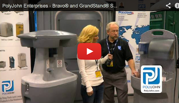 PolyJohn Enterprises - Bravo and GrandStand Portable Heated Sinks - 2013 Pumper & Cleaner Expo