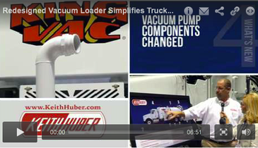 Redesigned Vacuum Loader Simplifies Truck Operation