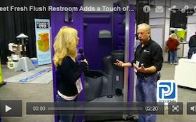 Fleet Fresh Flush Restroom Adds a Touch of Class