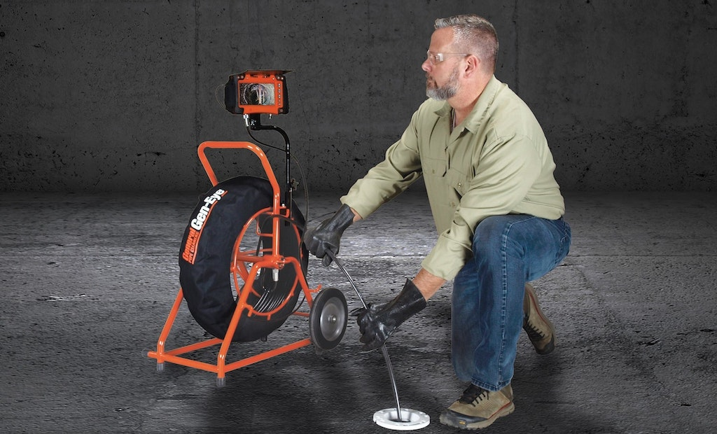 New Gen-Eye X-POD Plus Sewer Camera Features Gen-Pack Battery Adapter, Wi-Fi and Distance Counter