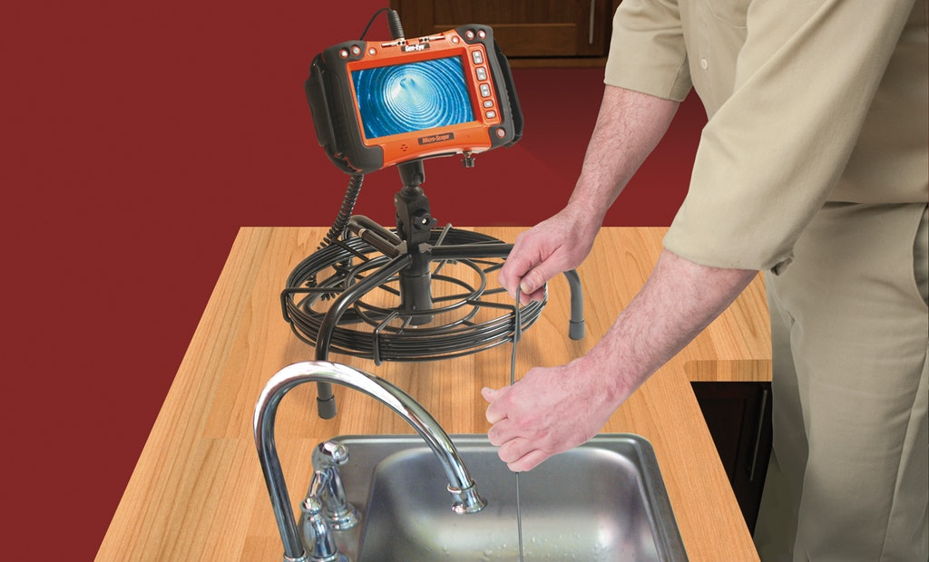 A Plumber's Most Dependable Pipe Inspection Tool