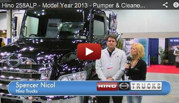 Hino 258ALP - Model Year 2013 - Pumper & Cleaner Expo Product Spotlight