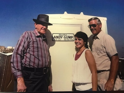 Nancy Gump and Her Team at Andy Gump Temporary Site Services Build on a Family Legacy