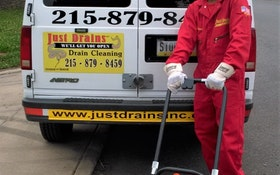 Model 88 Sectional Drain Cleaner Saves Graduation Party