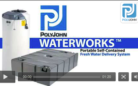 PolyJohn WaterWorks Fresh Water Delivery System Works for You