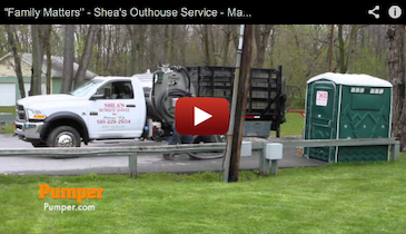 """""""Family Matters"""" - Shea's Outhouse Service - March 2013 Pumper Video Profile"""