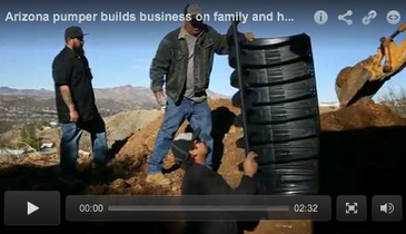 Arizona pumper builds business on family and honesty