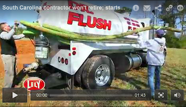 Retirement? Not for This 67-Year-Old Septic Pumper!