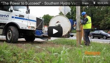 """The Power to Succeed"" - Southern Hydro Vac - Pumper Magazine Video - September 2012"